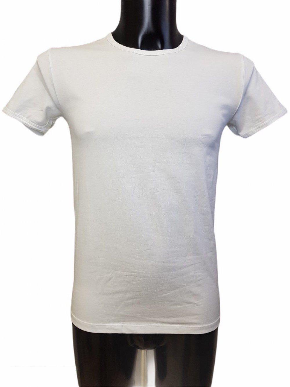 03858 23 T-Shirt Uomo Giro Collo Basso Liabel