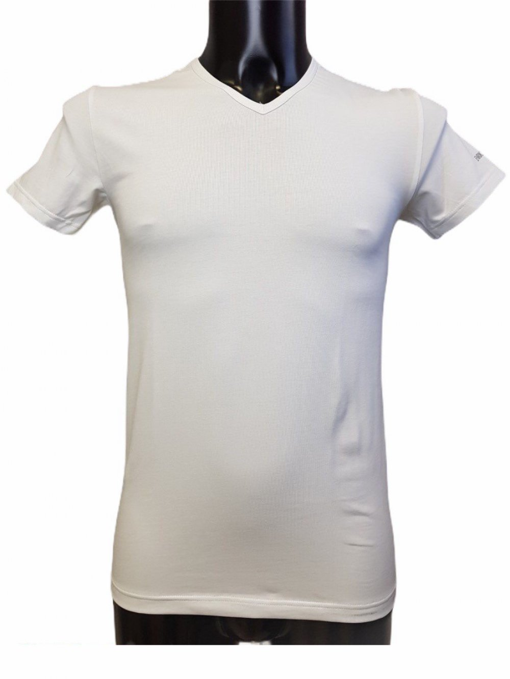 03858 53 T-SHIRT UOMO Scollo V Liabel