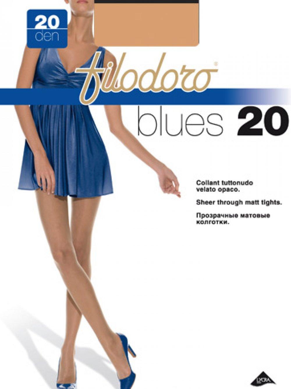 BLUES 20 DEN COLLANT VELATO FILODORO