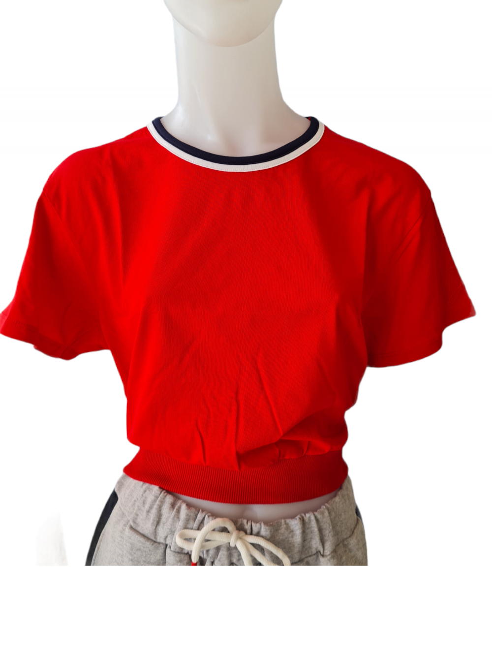 DW0215 T-SHIRT CROP DATCH