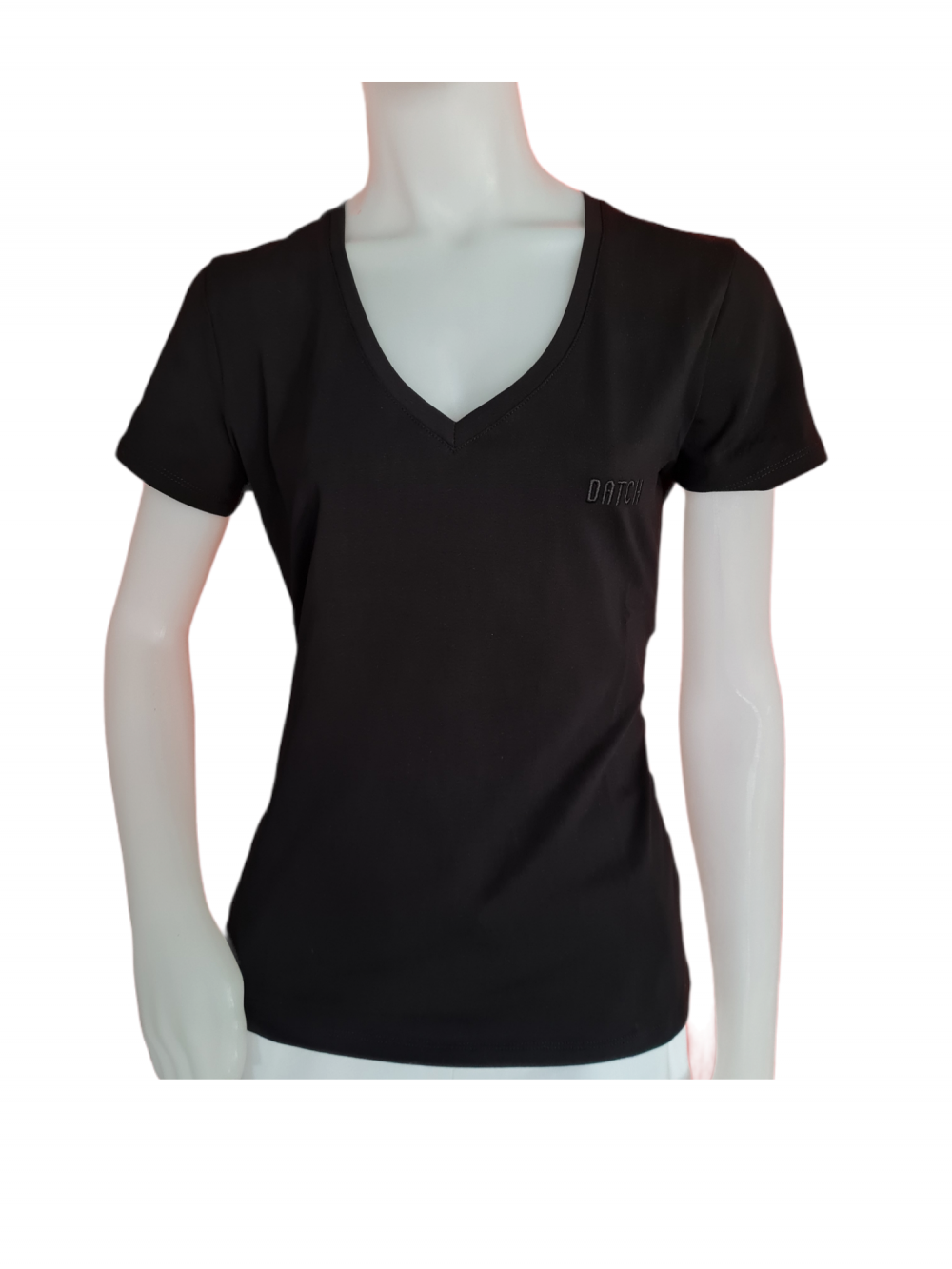 DWOOO5 T-SHIRT SLIM SC NERA DATCH
